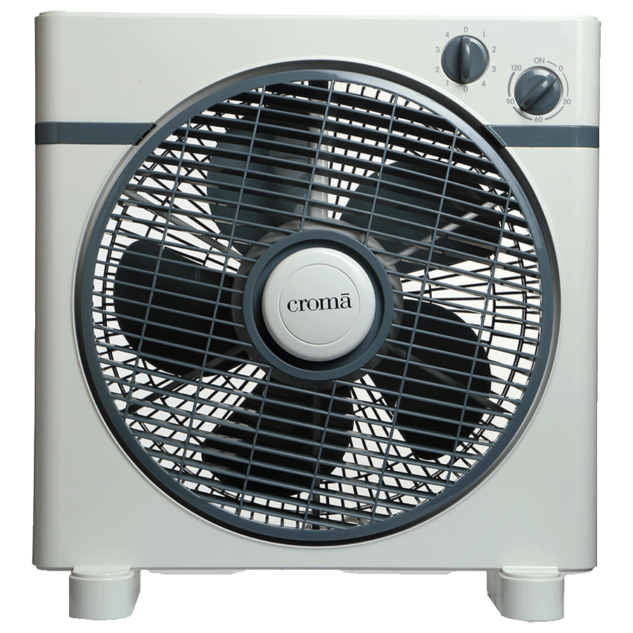 Croma 30 CM 5 Blade Table Fan (CRF0021, White)