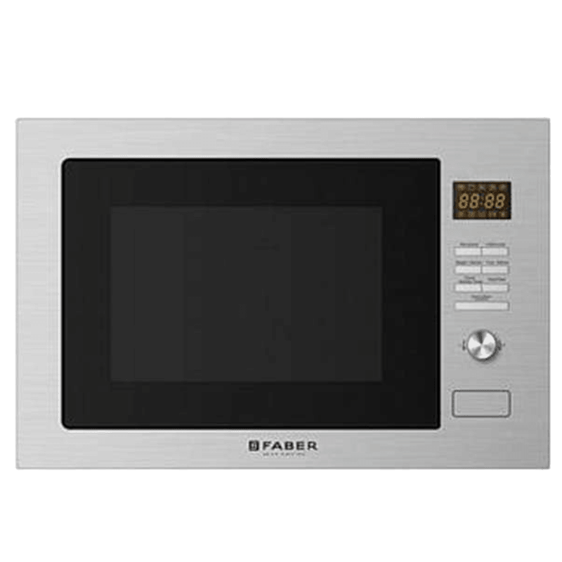 Faber 32 Litres Built-in Microwave Oven (Child Safety Lock, FBIMWO 32 L CGS/FG, Stainless Steel)