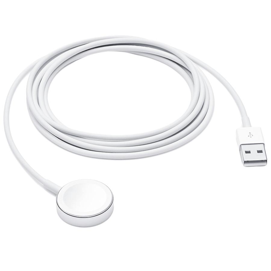 Apple USB (Type-A) to Magnetic Charging USB Cable (RWACR005, White)