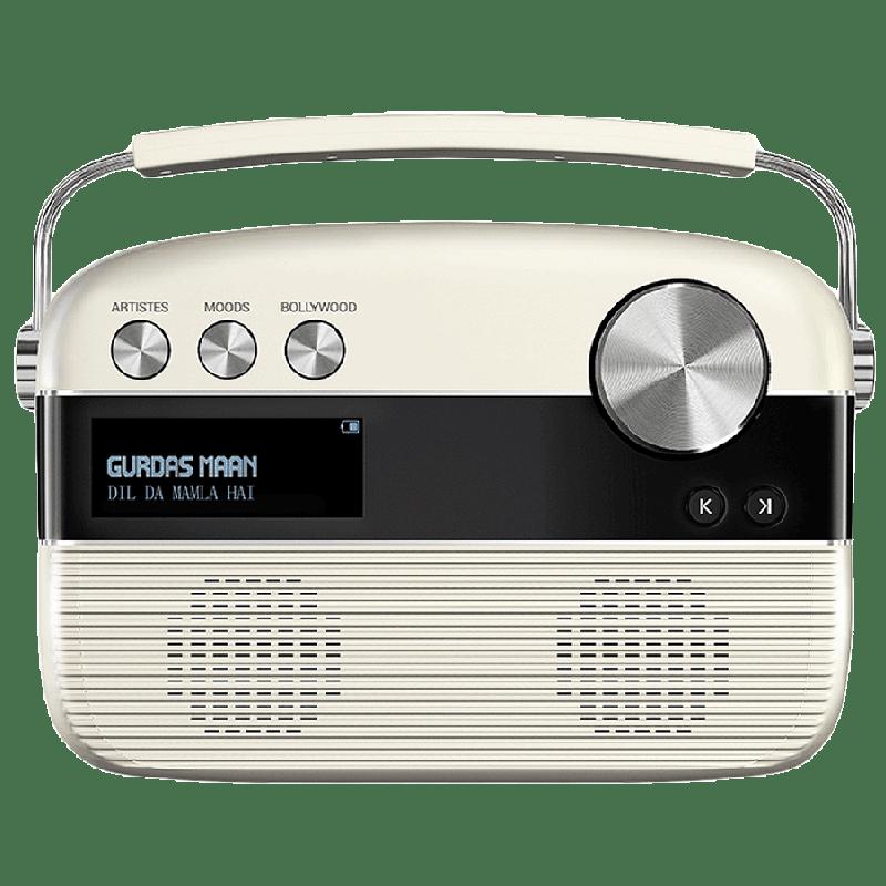 Saregama Carvaan Punjabi Audio Player (R40001, Porcelain White)