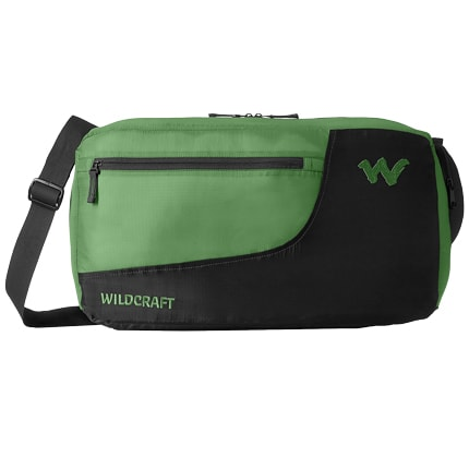 Wildcraft 24 Litres Travel Duffle Bag (Pac n Go Duffle 1 2, Green)_1