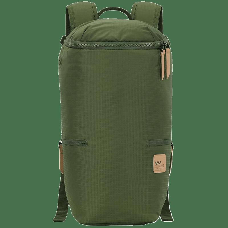 VIP Wander 01 19 Litres Polyester Casual Backpack (3 Pockets, BPWAN01GRN, Green)