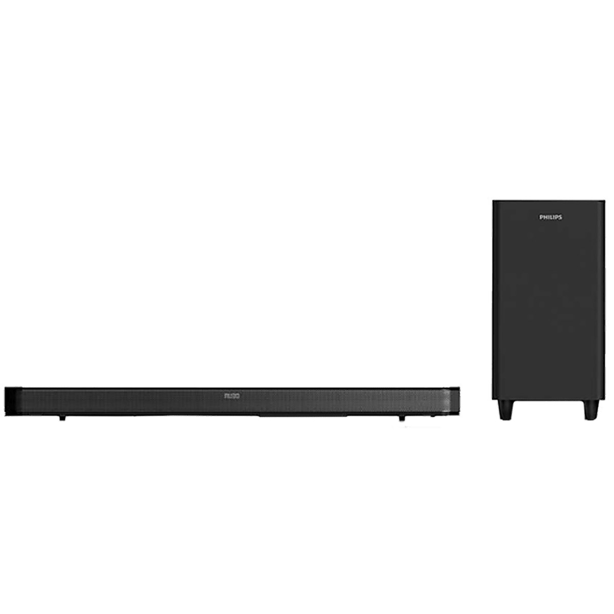 Philips 8000 Series 2.1 Channel 160 Watts Bluetooth Sound Bar Home Theatre (With Wireless Subwoofer, HTL8162/94, Black)