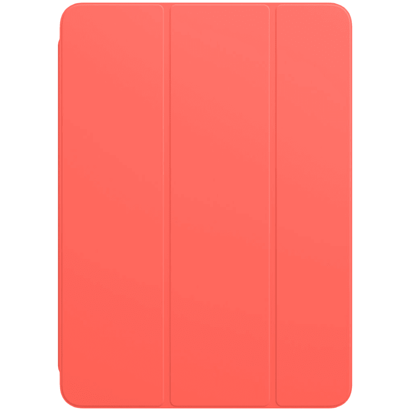Apple Polyurethane Smart Folio Cover For iPad Air 10.9 Inch (Foldable, MH093ZM/A, Pink Citrus)