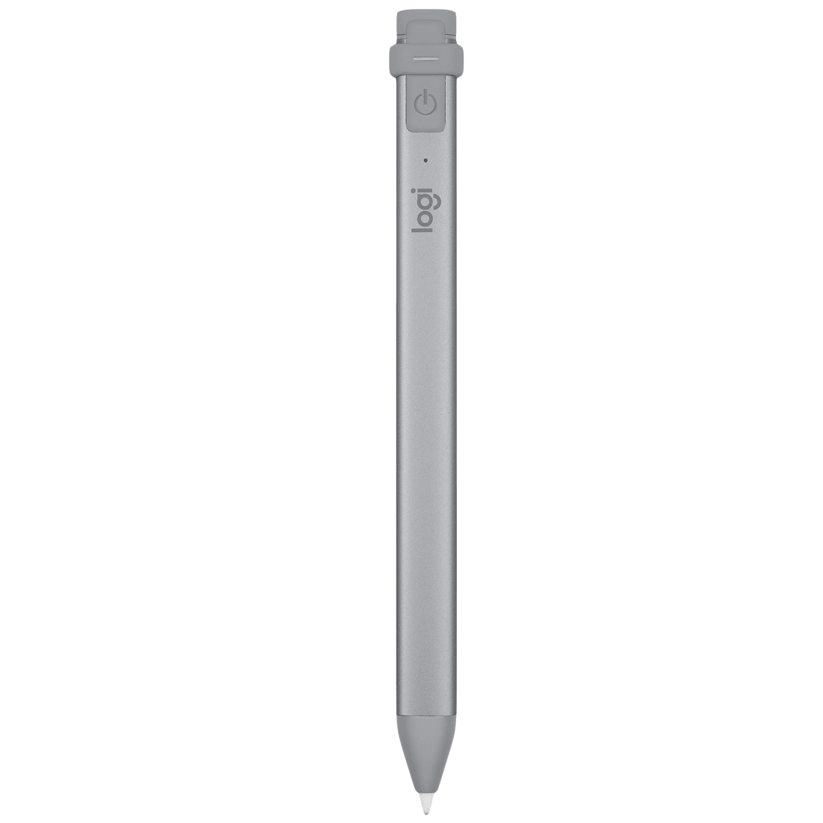 Logitech Crayon Pencil For iPad (Palm Rejection Technology, 914-000035, Grey)