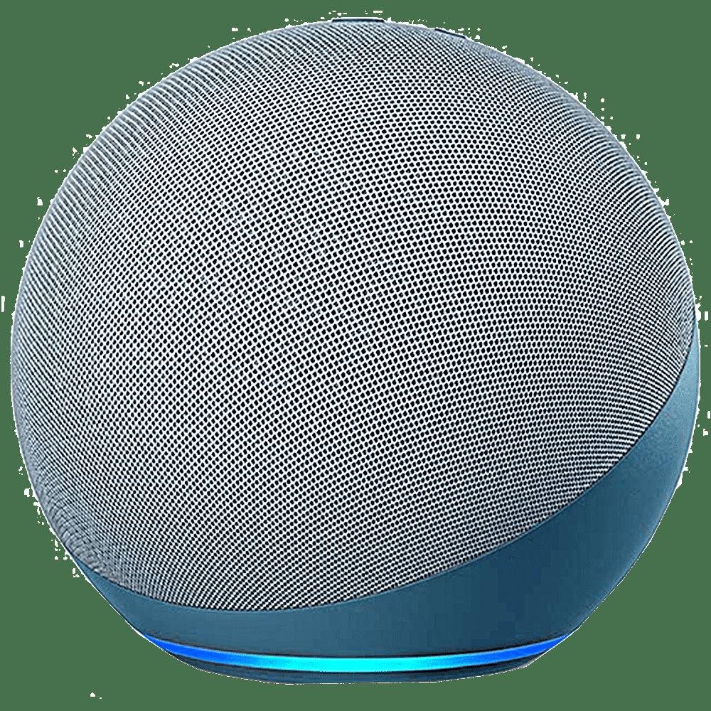 Amazon Echo Dot 4th Gen Alexa Built-in Smart Speaker (Powerful Bass, B084KSRFXJ, Blue)