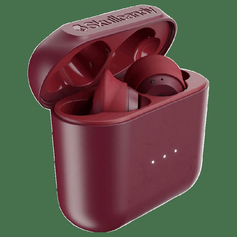 Skullcandy Indy In-Ear Truly Wireless Earbuds (S2SSW-M685, Red)