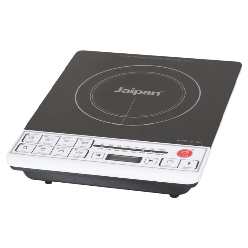 Jaipan Jpic0096 1 Burner Induction Cooktop (Black)