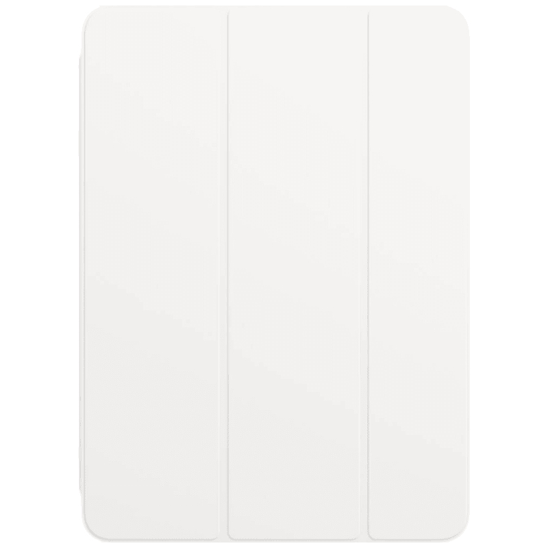 Apple Polyurethane Smart Folio Cover For iPad Air 10.9 Inch (Foldable, MH0A3ZM/A, White)