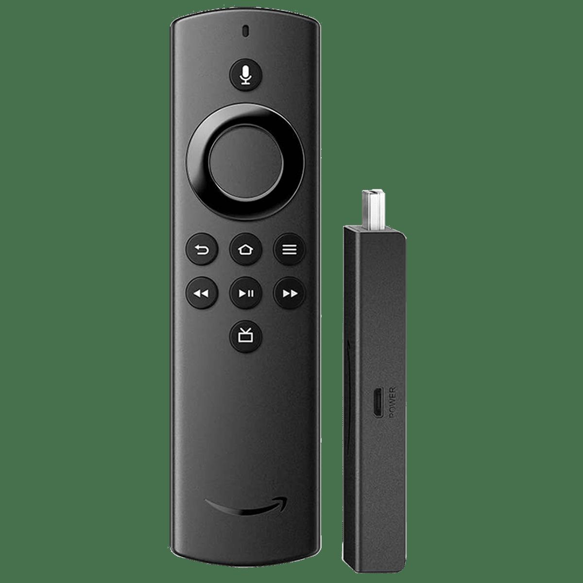 Amazon FireTV Stick Lite With Alexa Voice Remote Lite (Stream HD Quality Video, B07ZZW86G4, Black)