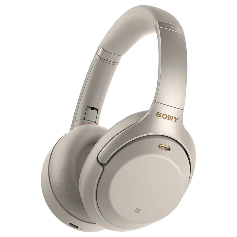 Sony WH-1000XM3 Wireless Noise Cancelling Headphones (Silver)_2