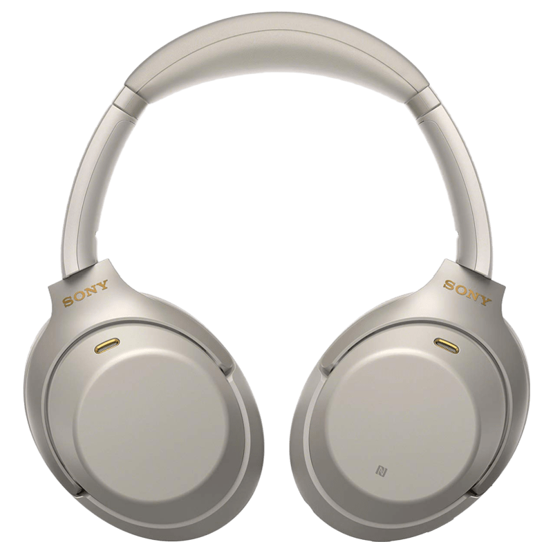 Sony WH-1000XM3 Wireless Noise Cancelling Headphones (Silver)_1