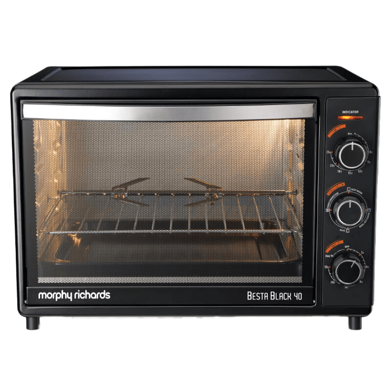 Morphy Richards 40 Litres Oven Toaster Griller (Besta Black)