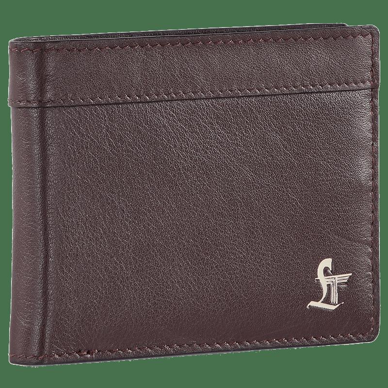 Leather Talks Smart Wallet (LT/SR/005, Brown)