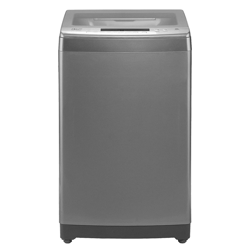 Haier 7 kg Fully Automatic Top Loading Washing Machine (HWM70-698NZP, Titanium Grey)