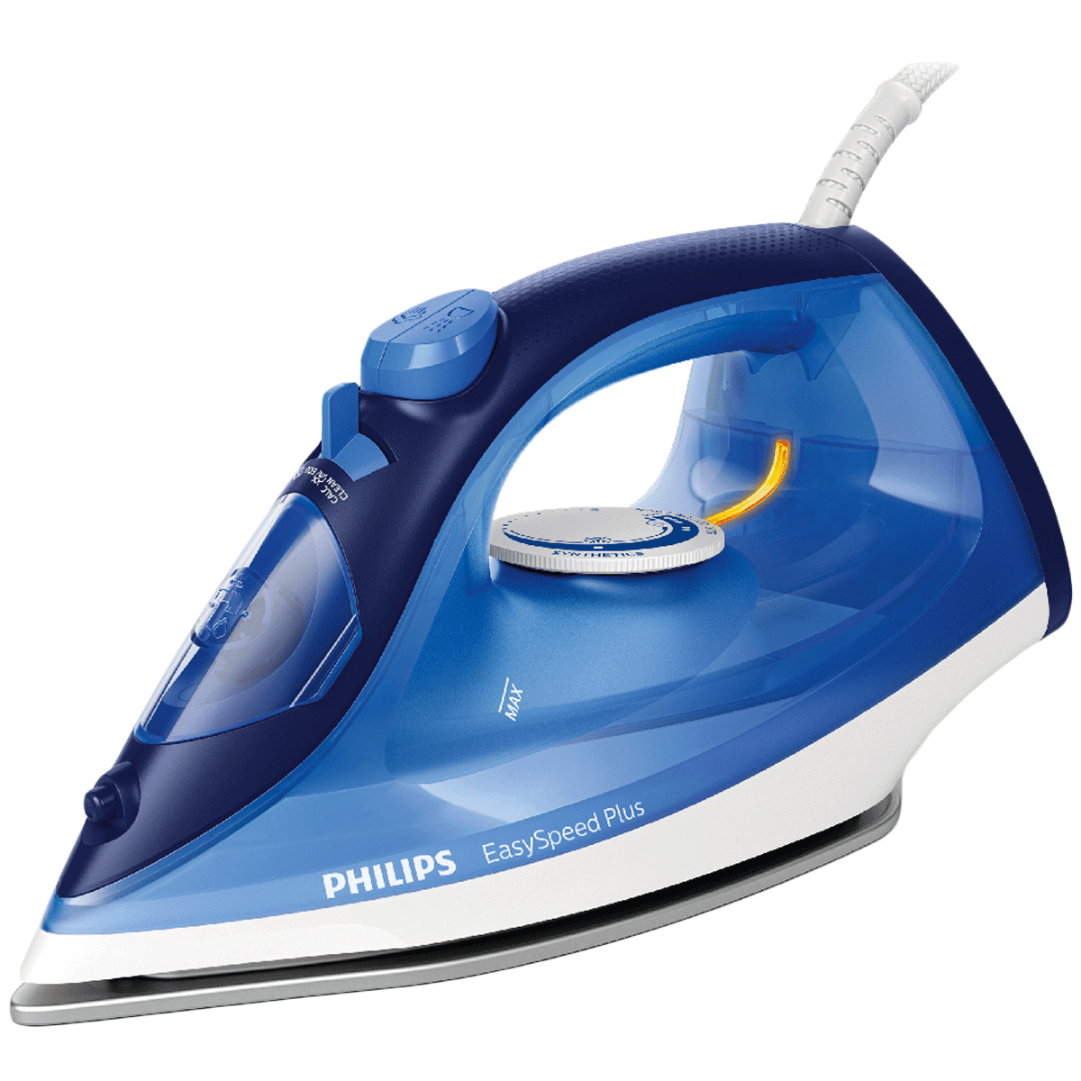 Philips EasySpeed Plus 2200 Watts 270ml Steam Iron (Durable Ceramic Soleplate, GC2145/20, Blue)