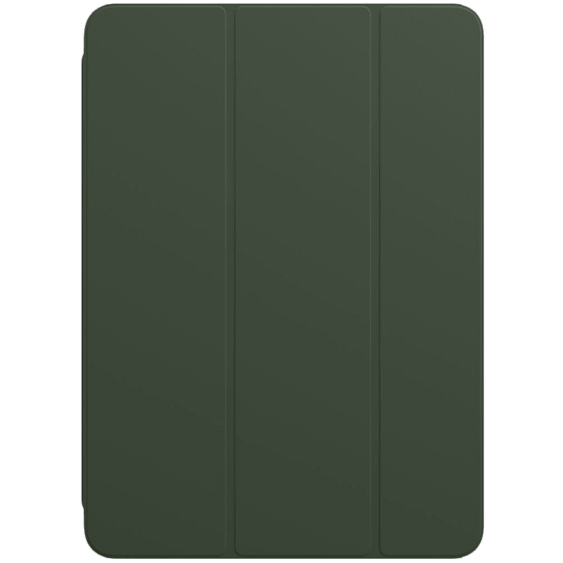Apple Polyurethane Smart Folio Cover For iPad Air 10.9 Inch (Foldable, MH083ZM/A, Cyprus Green)