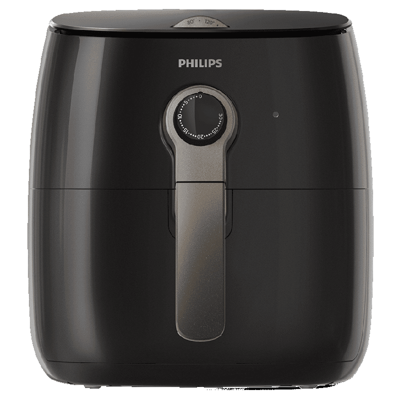 Philips Viva Collection Air Fryer (Fat Removal Technology, HD9721/13, Black)