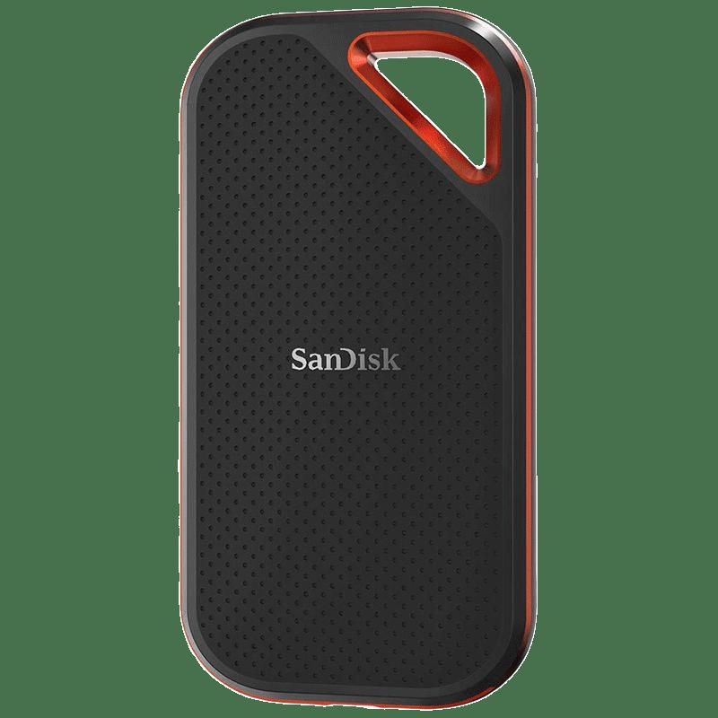 SanDisk 1 TB Extreme Pro Portable SSD (SDSSDE80-1T00-G25, Black)