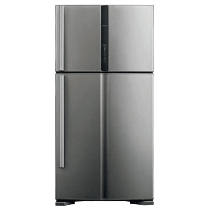 Hitachi Big2 601 Litres 2 Star Frost Free Inverter Double Door Refrigerator (Bottom Mount, Power Cool Pocket, R-VG660PND7 -(GGR), Glass Grey)