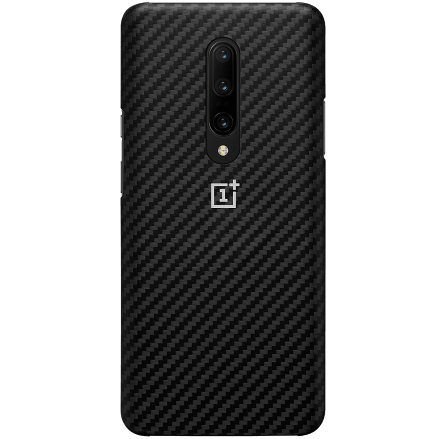 OnePlus 7 Pro Protective Back Case Cover (5431100074, Karbon)