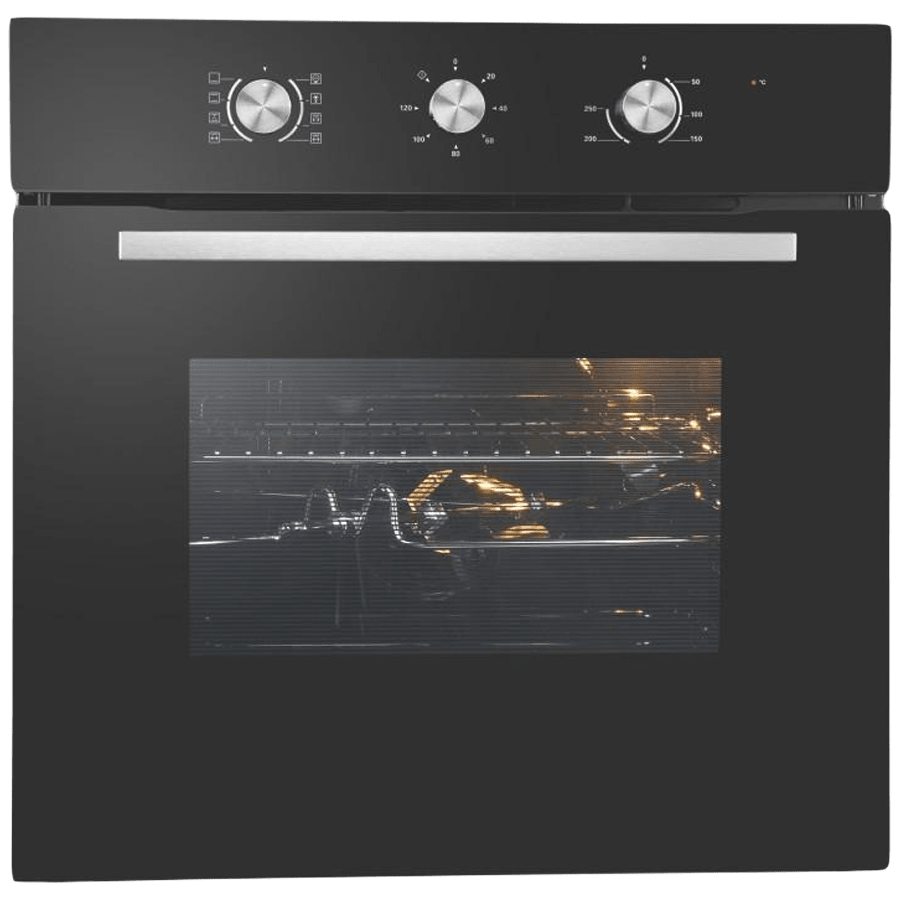 Elica 65 Litres Built-in Oven (Mechanical Control, EPBI 861 MMF, Black)