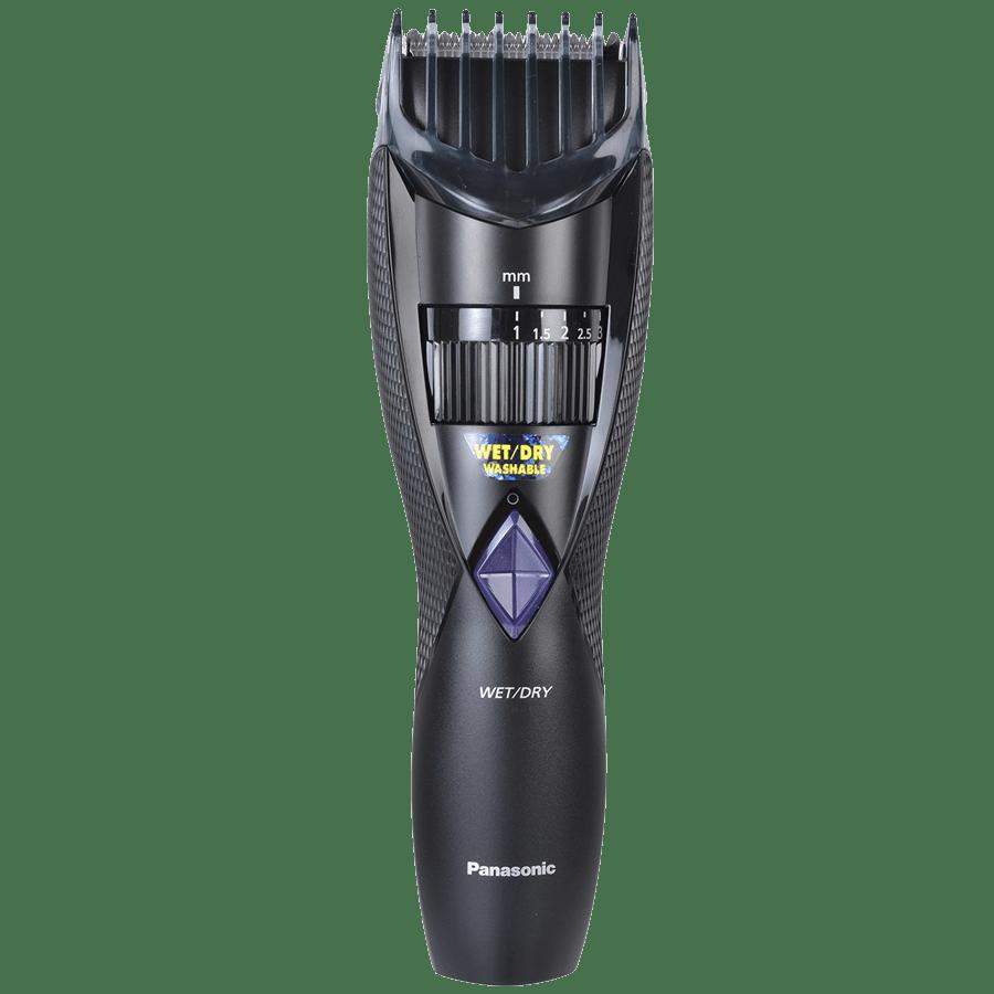 Panasonic Stainless Steel Blades Cordless Trimmer (Quick Adjust Dial, ER-GB30-K44B, Black)