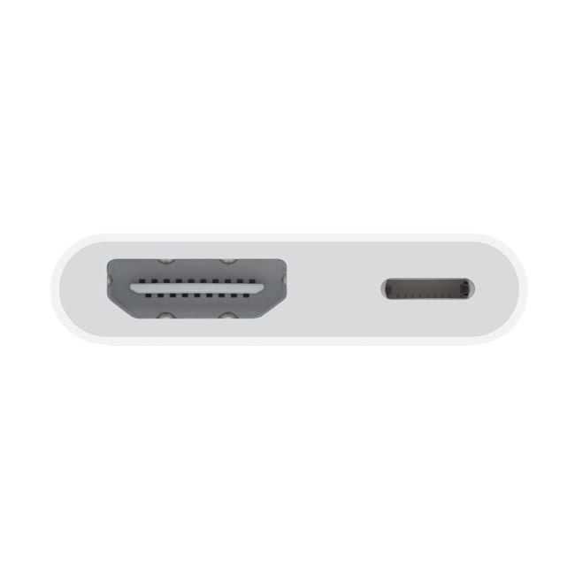 Apple 11cm Lightning To HDMI (Type-A) Connector (MD826ZM/A, White)_2