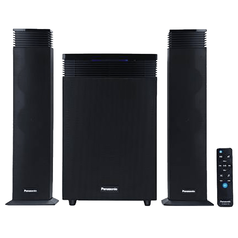 Panasonic SC-HT21GW-K 2.1 Channel Speaker (Black)
