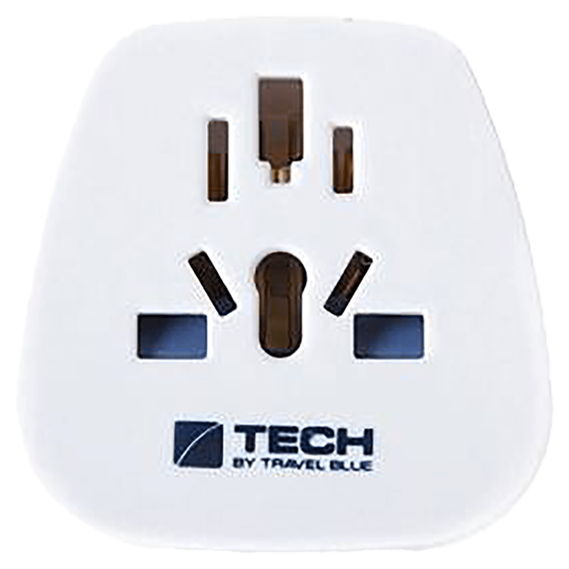 Travel Blue Tourist Wall Charging Adapter (957, White)