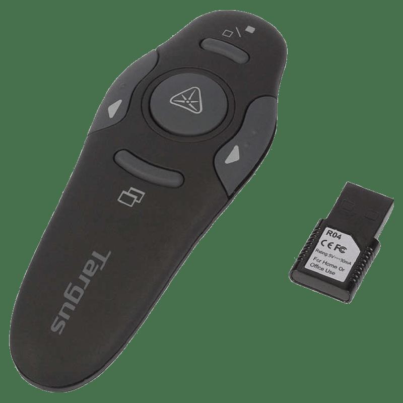 Targus Wireless Presenter with Laser Pointer (AMP16AP, Black)