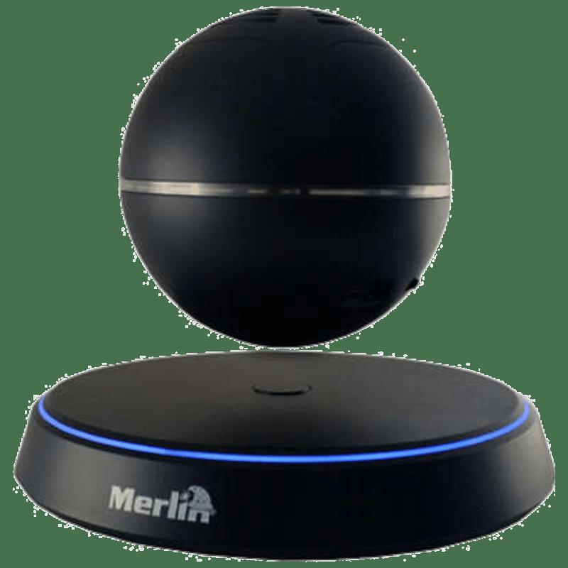 Merlin Levitating Orbital Bluetooth Speaker (Black)