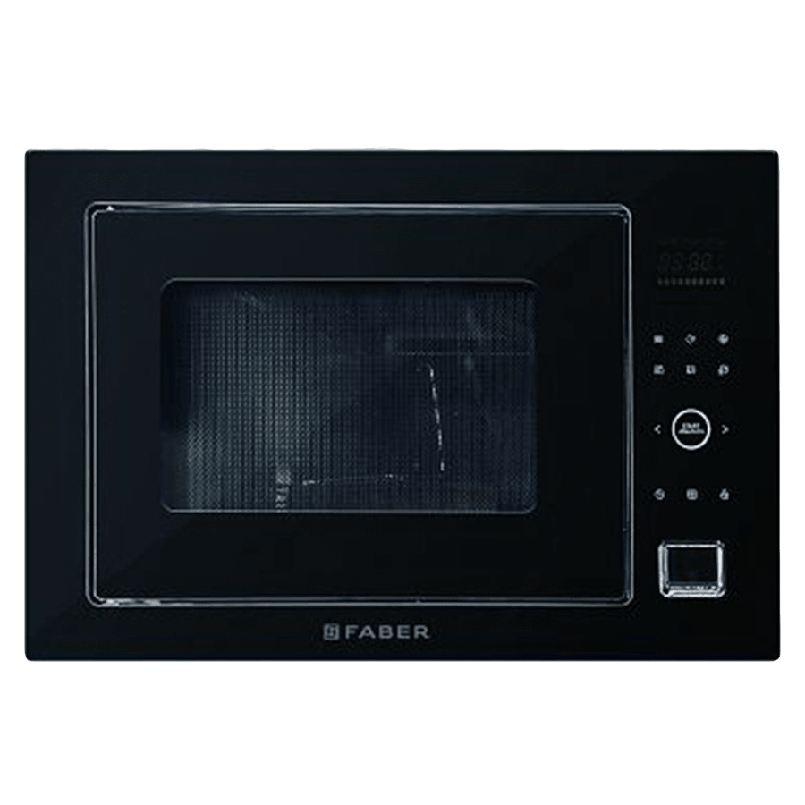Faber 32 Litres Built-in Microwave Oven (10 Auto Cook Menus, FBI MWO 32L GLB, Stainless Steel)