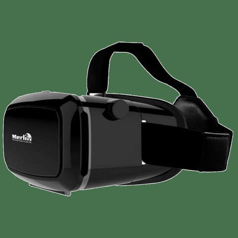 Merlin Immersive 3D Cinema Edition Virtual Reality Headset (Black)