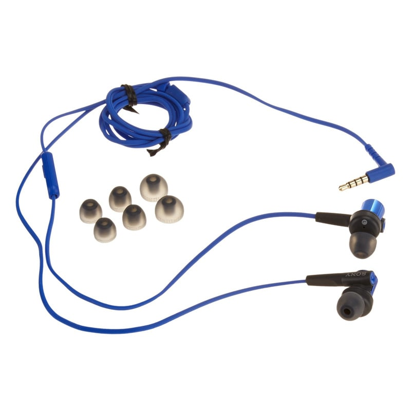 Sony Extra Bass In-Ear Wired Earphones with Mic (MDR-XB50AP/L, Blue)_2