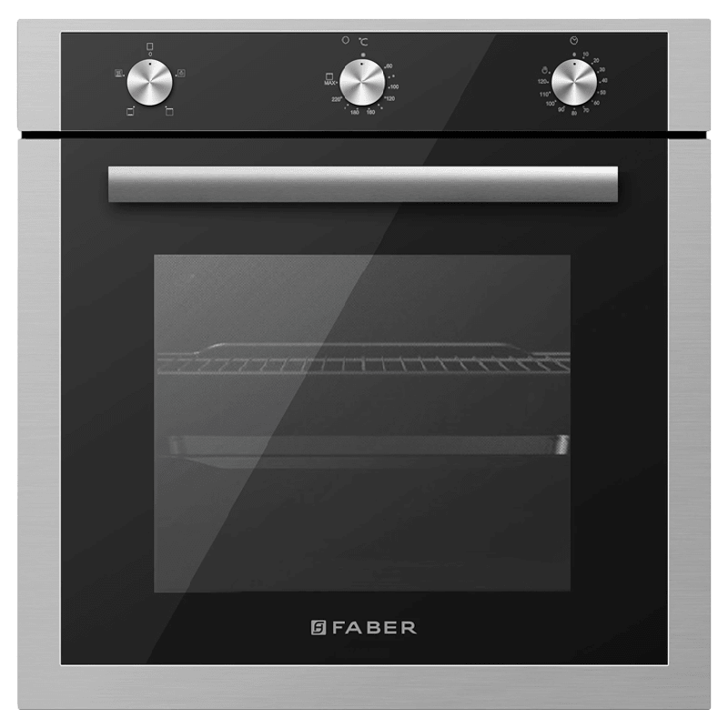 Faber 80 Litres Built-in Oven (6 Cooking Functions, FBIO 80L 6F, Black)