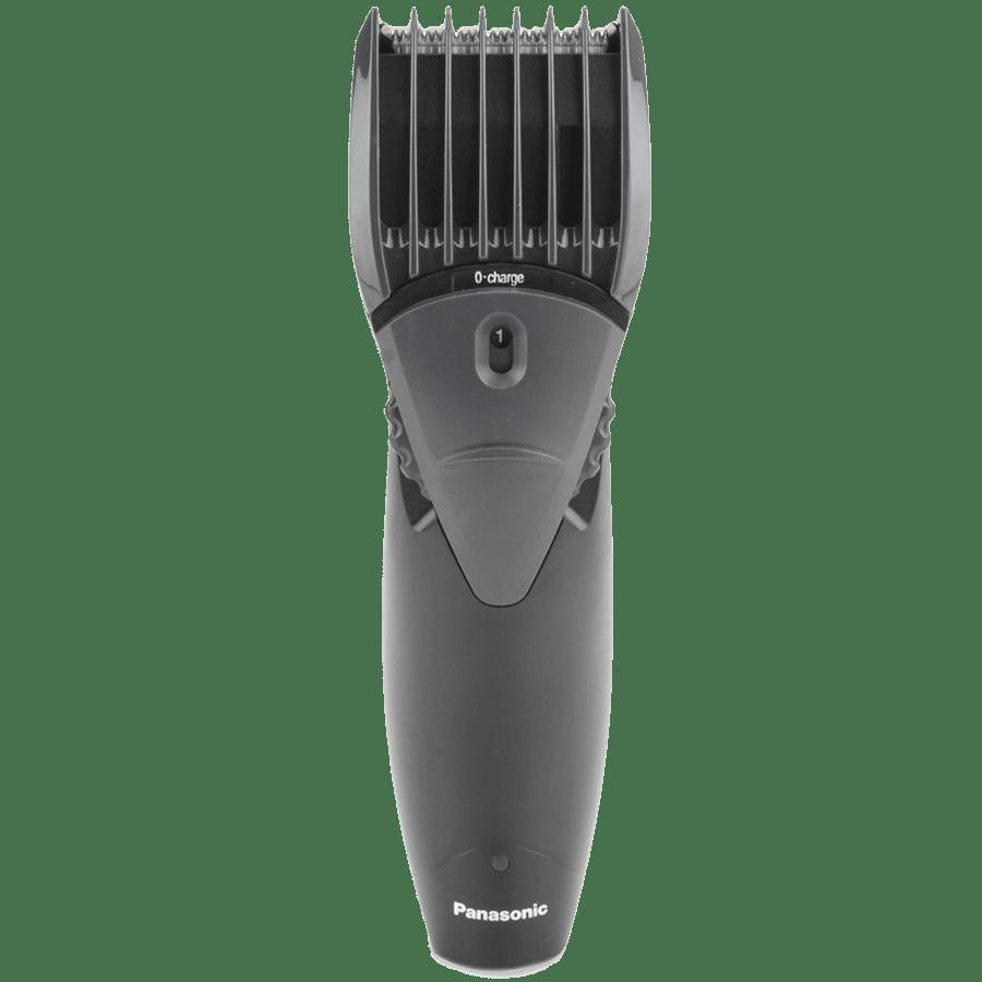 Panasonic Stainless Steel Blades Cordless Trimmer (13 Length Settings, ER207WK44B, Black)