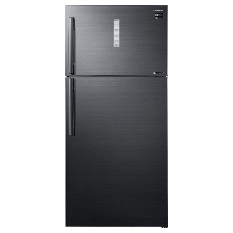 Samsung 670 Litres 2 Star Frost Free Inverter Double Door Refrigerator (5-in-1 Convertible, RT65K7058BS/TL, Black Inox)