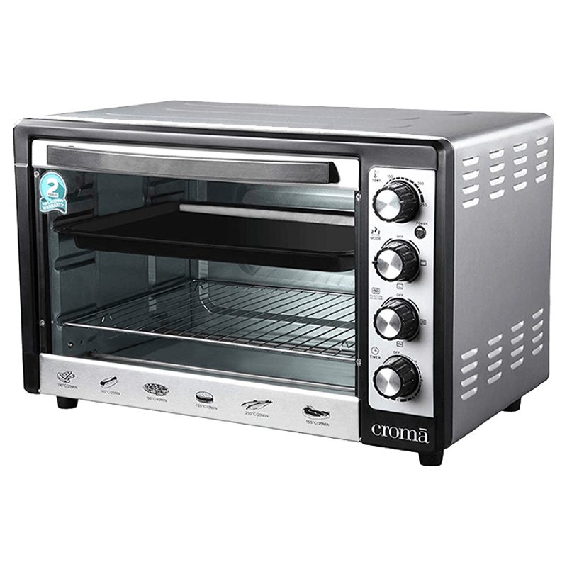 Croma 48 Litres CRAO0063 Oven Toaster Griller (Black)_8