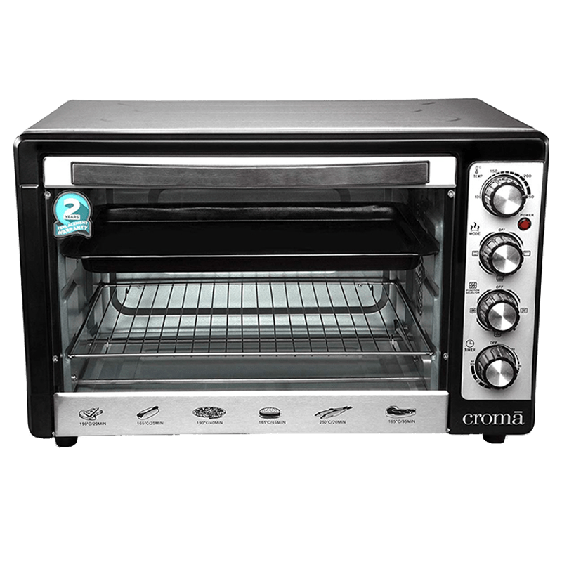 Croma 48 Litres CRAO0063 Oven Toaster Griller (Black)_1