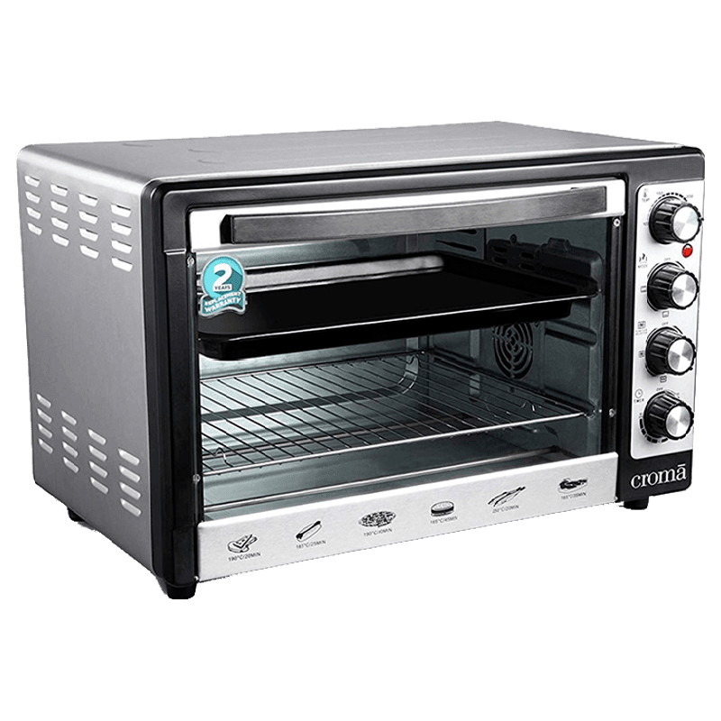 Croma 48 Litres CRAO0063 Oven Toaster Griller (Black)_10