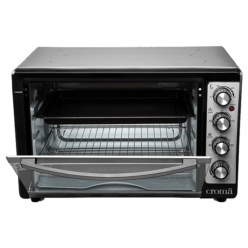 Croma 48 Litres CRAO0063 Oven Toaster Griller (Black)_4