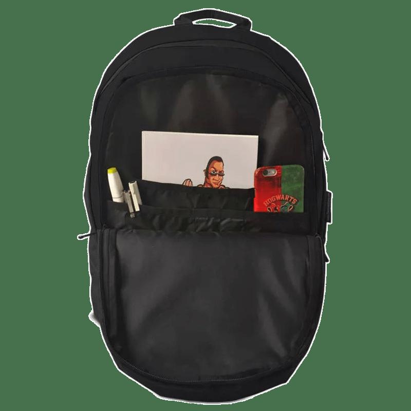 "The Souled Store WWE- Finn Bailor ""Bailor Club"" 30 Litres Laptop Backpack (Black)_4"