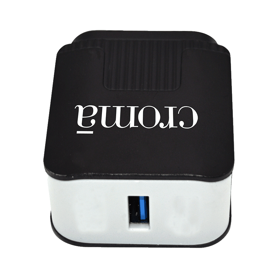 Croma Quick Charge 1.0 Wall Charger (CRCA2301, White)