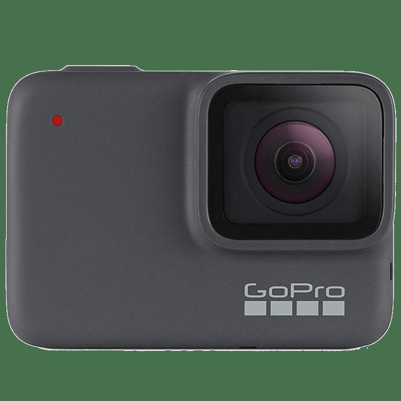 Go Pro Hero 7 10 MP Action Camera (CHDHC-601-RW, Silver)