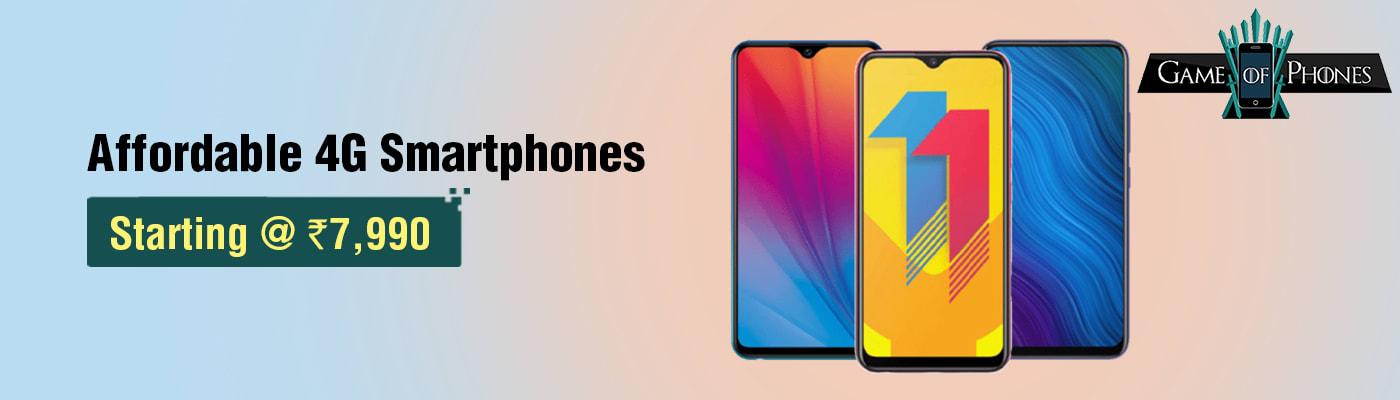 Affordable 4G Smartphones