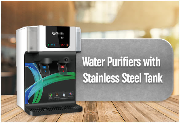 Water Purifier with Stainless Steel Tank