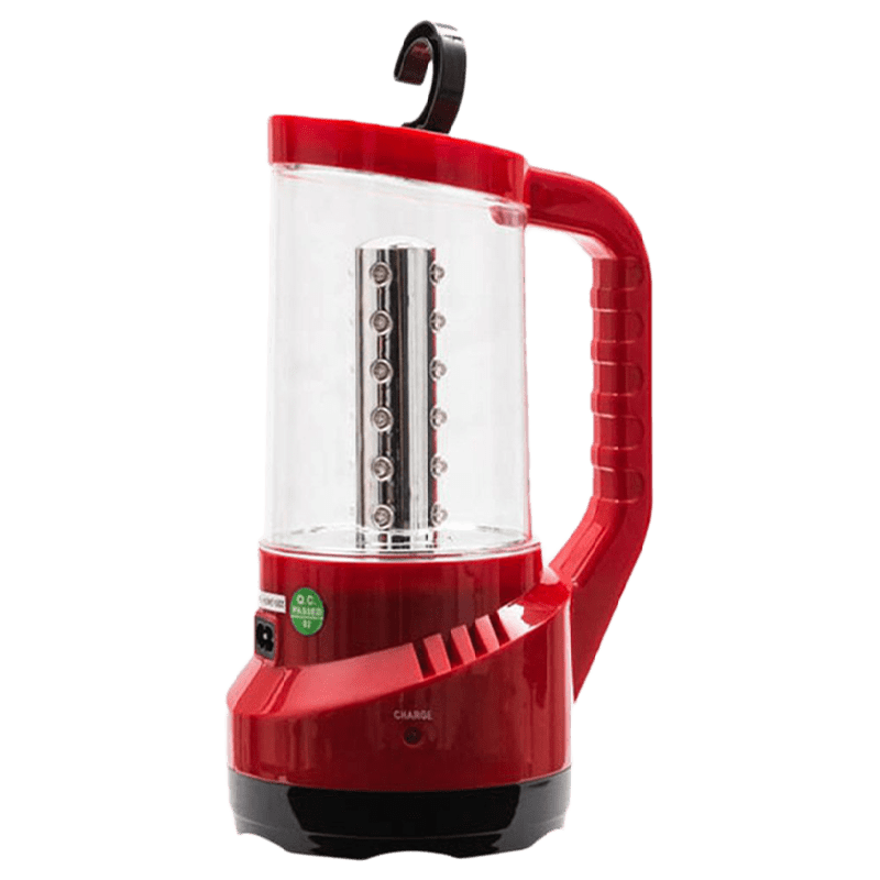 Syska Battery Powered 5 Watt Emergency LED Latern (SSK-RL-4043, Red)