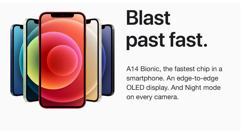 iPhone 12 Blast Past Fast