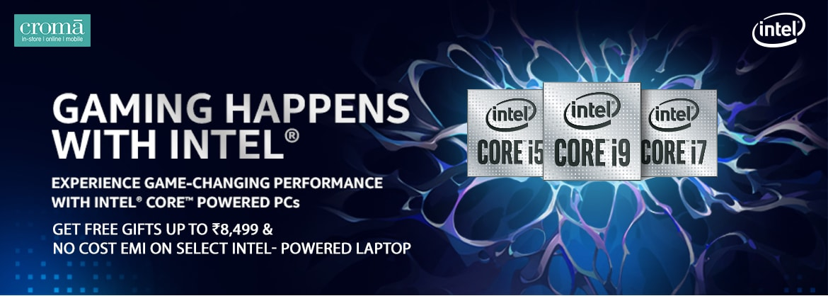Gaming Happens with Intel